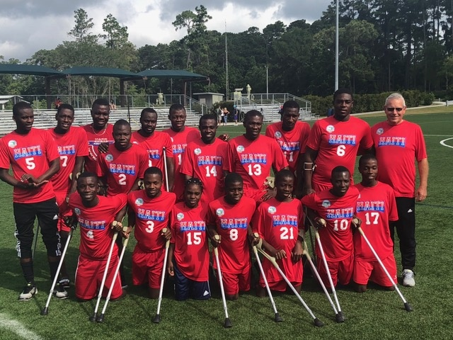 Amputee Haiti Soccer Team 6698