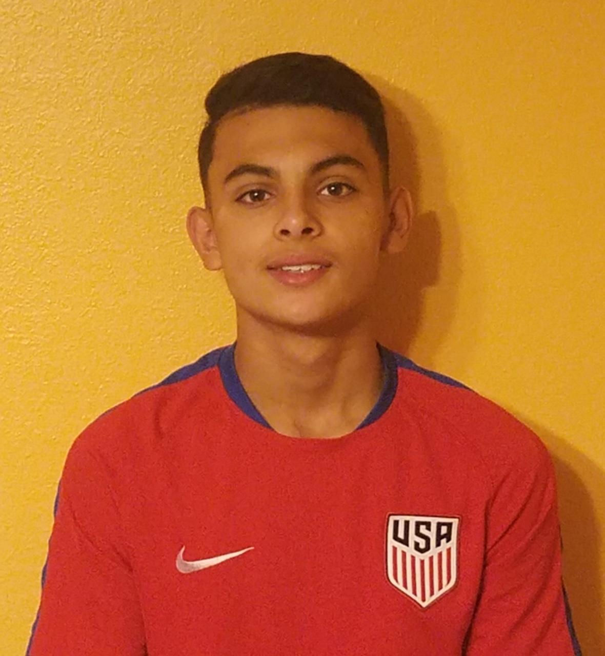 Cesar Cordova U15 National Team