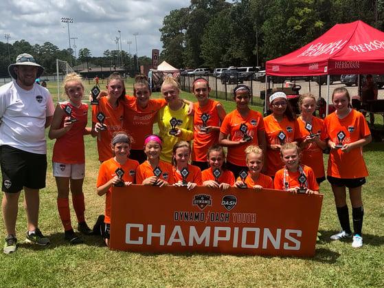 Dash 07 orange champions HYC 19