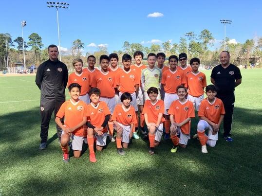 U13 Houston Premier Cup Champions 2019